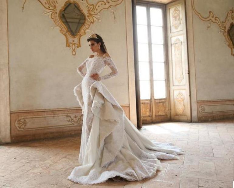 Красивое свадебное платье во сне