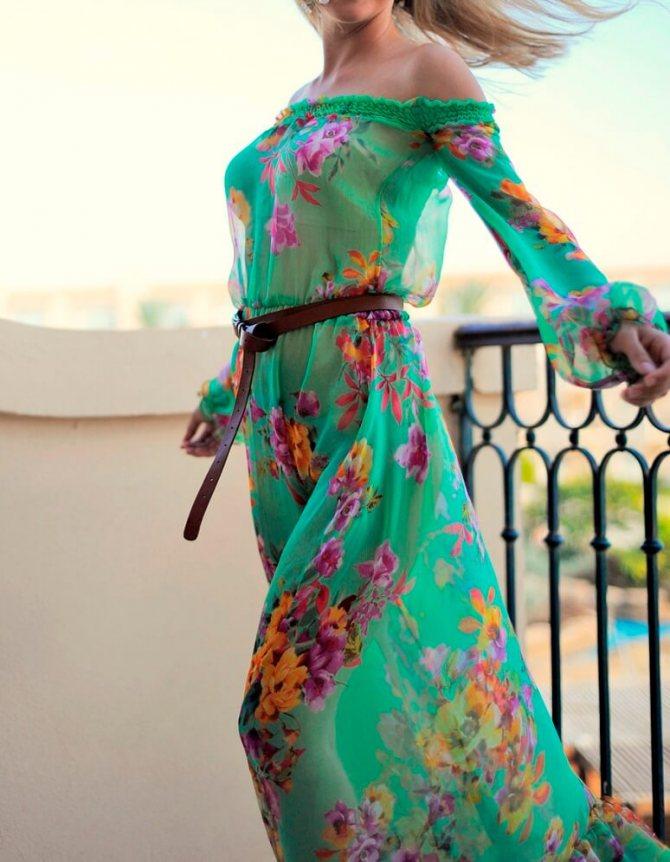 Красивые и модные модели летних женских платьев с фото