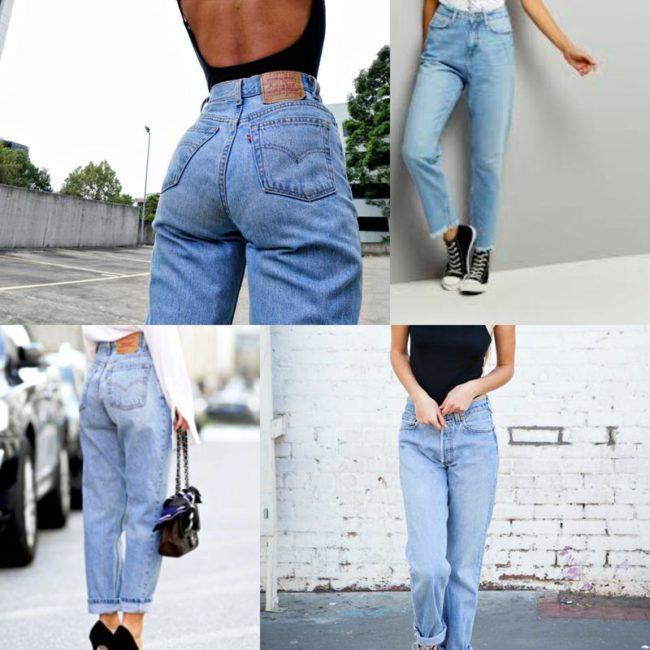 Красивые модели джинсов с высокой талией и подбор образов, кому идут и с чем носить такие луки