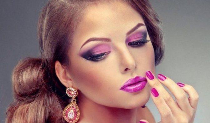Красивый бюти макияж