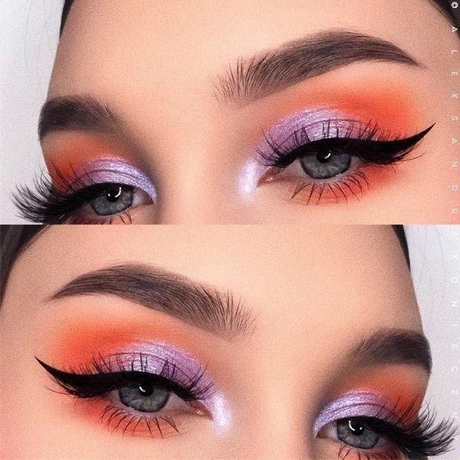красивый макияж глаз 2020