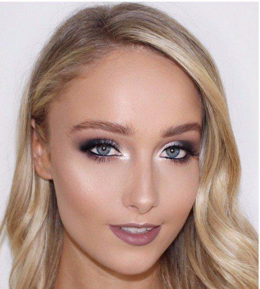 Красивый макияж на Новый год 2018