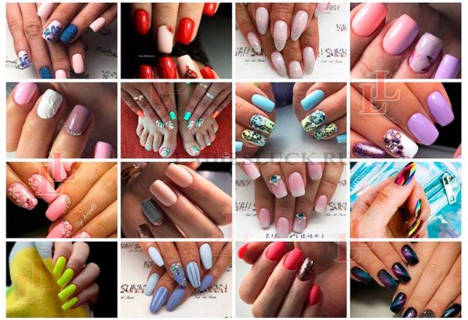 Красивый маникюр идеи дизайна ногтей фото 1