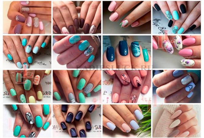Красивый маникюр идеи дизайна ногтей фото 3