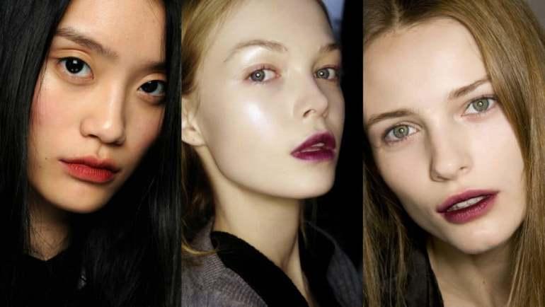 Красивый осенний макияж - новинки и модные фишки