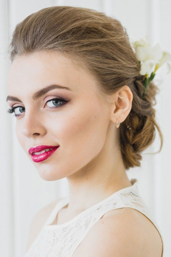 Красивый свадебный макияж невесты 2020-2021 года: фото, идеи свадебного макияжа