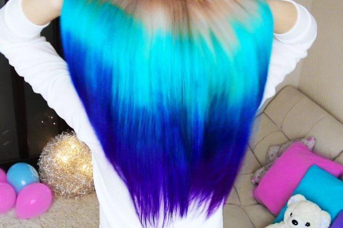 краска для волос которая смывается