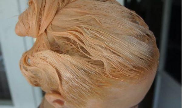 краска на волосах