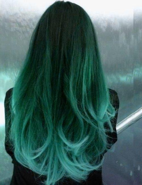 краска зеленая для волос
