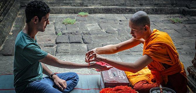Красная нитка в буддизме