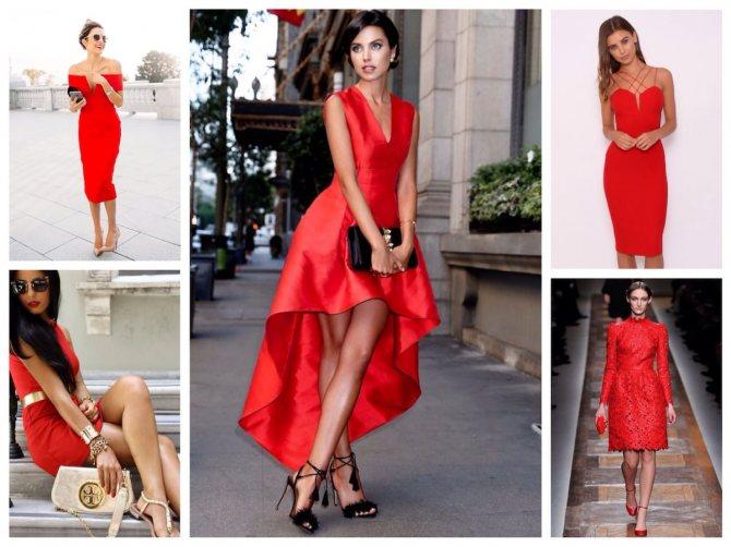Красный цвет: значение в одежде
