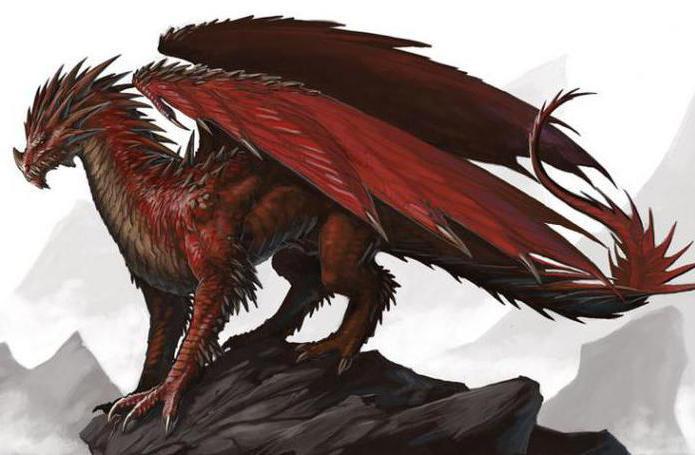 красный дракон хаоса