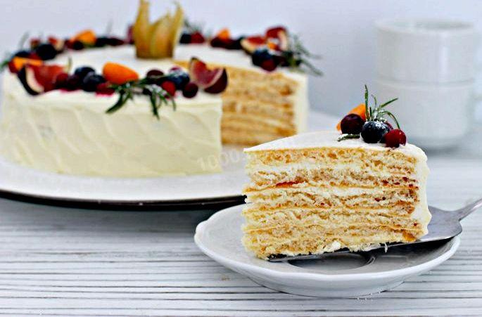 Крем для торта с маскарпоне рецепт Например, вы можете приготовить крем