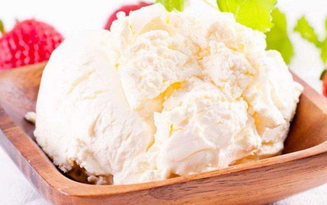 Крем из сыра маскарпоне творожный