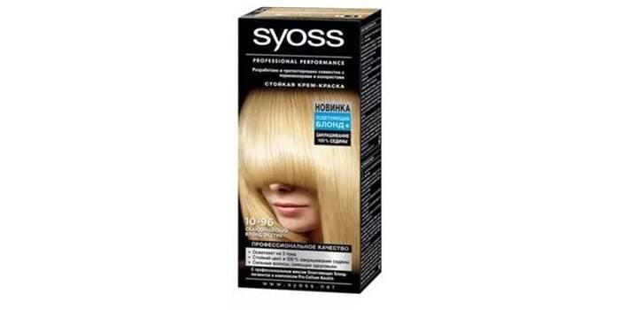 Крем-краска для осветления волос от Syoss