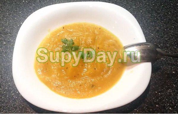 Крем суп из тыквы по-английски
