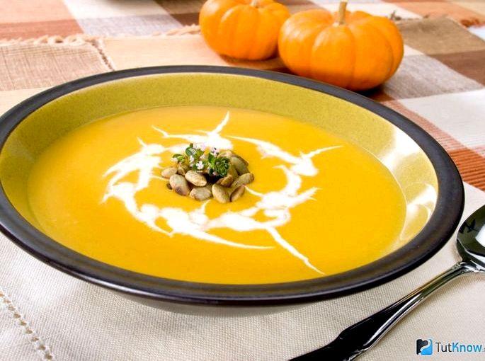 Крем суп из тыквы с сыром сушеный молотый