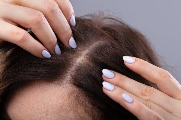 крепкие концы волос