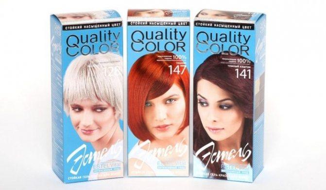 Круг Освальда для колористики волос. Фото, как подобрать оттенок Эстель, Капус, других красок