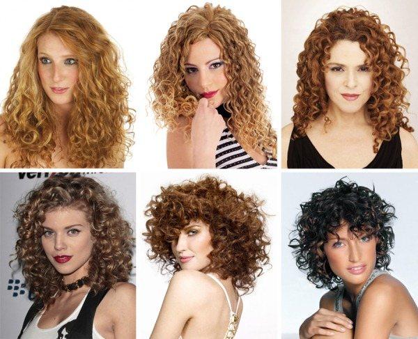 Крупная химия на средние волосы. Фото до и после химической завивки с челкой и без