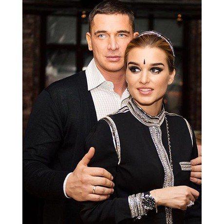 Ксения Бородина с мужем Курбаном Омаровым на вечеринке по случаю своего дня рождения