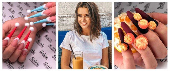 100 идей однотонного маникюра 2021: фото-новинки, модные тенденции