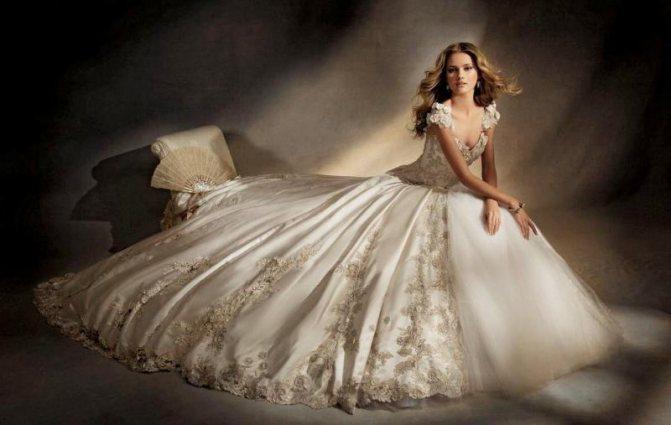 Кто приснился в свадебном платье