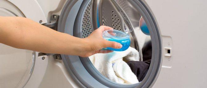 Куда заливать жидкий порошок в стиральной машине: особенности