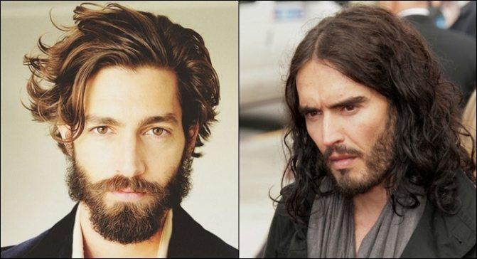 кудрявые волосы у мужчин