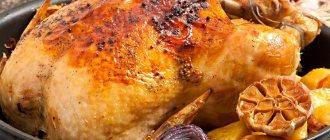 Курица в духовке