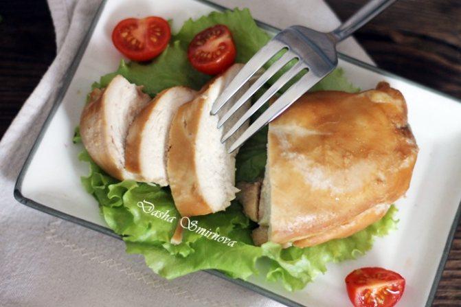 Куриное филе в духовке в фольге