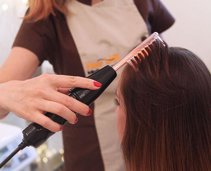 Курс дарсонваля для волос