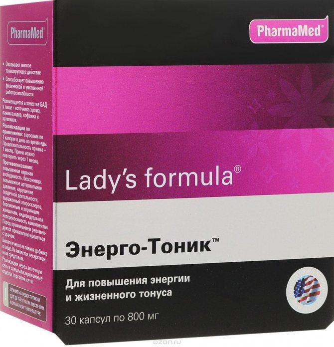 Lady's formula Энерго-Тоник