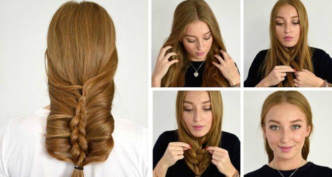 Лайфхаки для волос: прически и уход