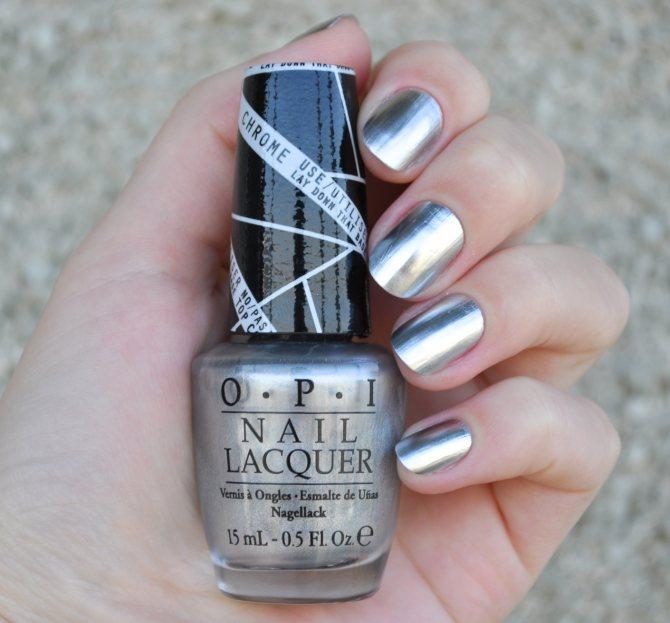 Лак для ногтей металлик
