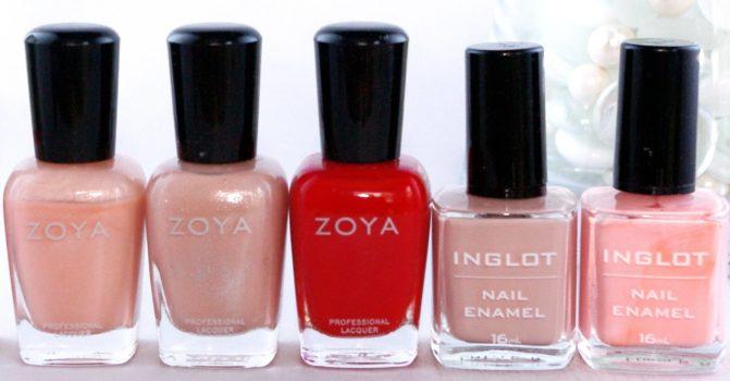 Лаки 5-Free - Zoya, Inglot