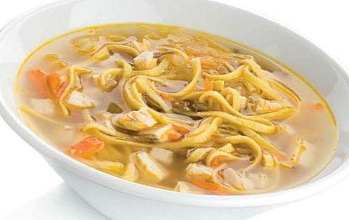 Лапшичный суп с курицей