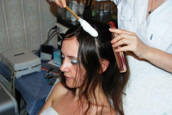 Лечение волос: криотерапия