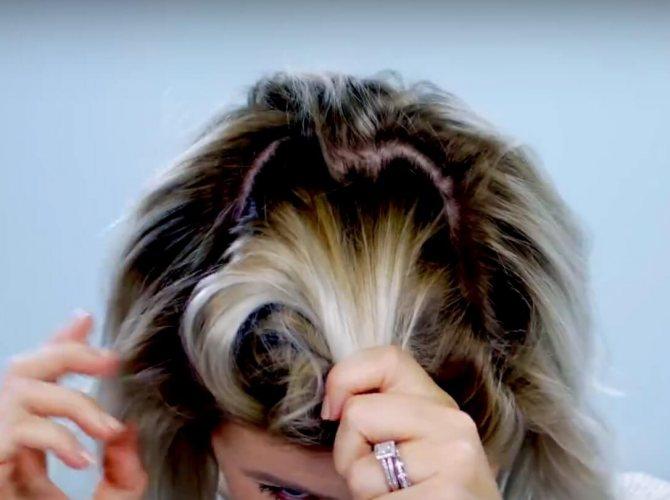 легкие прически самой себе за 5 минут в школу на короткие волосы