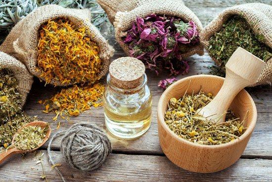 Лекарственные травы вернут коже здоровый вид