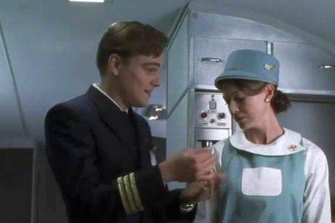 Леонардо Ди Каприо и Эллен Помпео в фильме «Поймай меня, если сможешь»