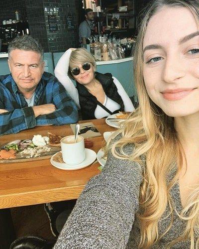 Леонид Агутин с женой и дочерью