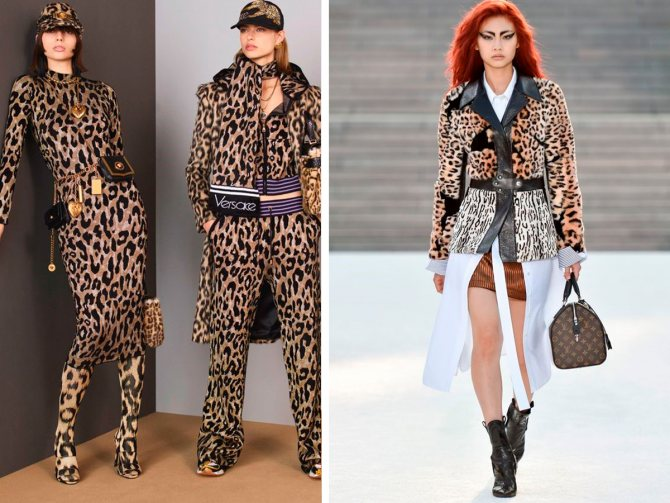 Леопардовый принт в одежде