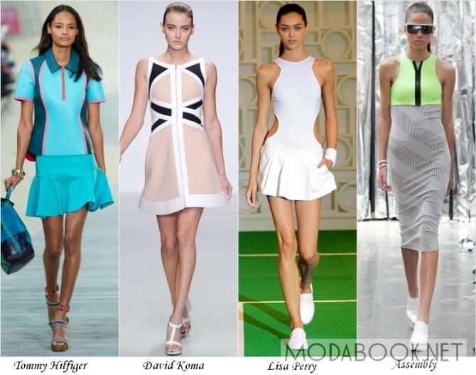 Летняя мода 2014 года в спортивном стиле