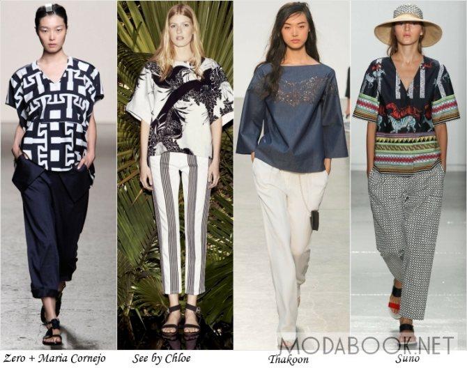 Летняяя мода в уличном стиле 2014