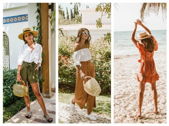 Летом испанки одеваются просто