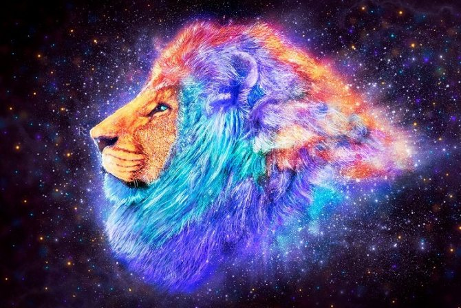 Лев максимально старается возвыситься в глазах других