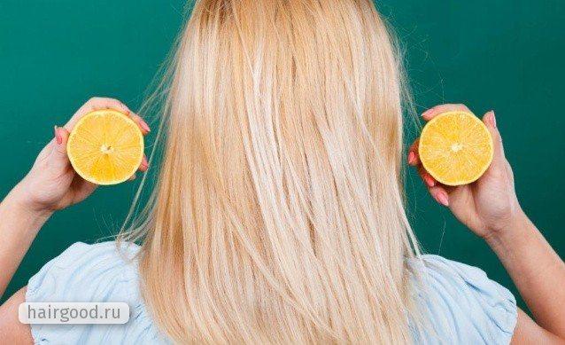 Лимон для волос: применение для осветления и ухода