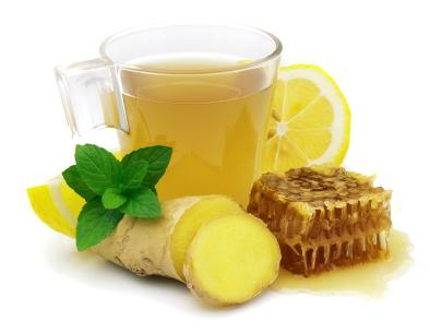 Лимон имбирь мед