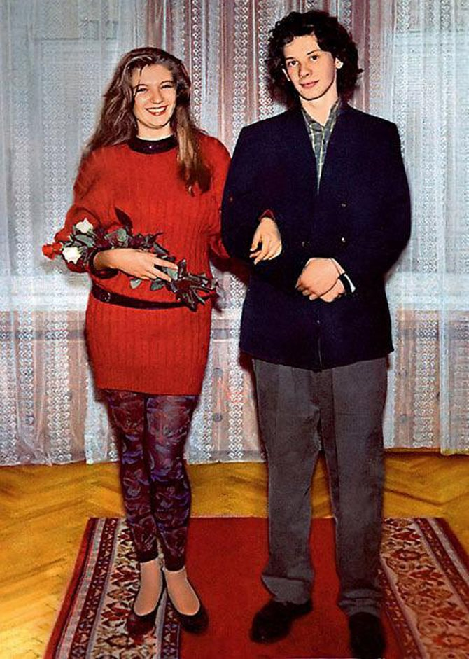 Лишь месяц не дотянули до годовщины свадьбы начинающие артисты Даниил Спиваковский и Анна Ардова